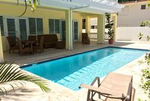 Casa Soledad - Units CS1 & CS2 / Brand New in 2015 - Two Non Oceanfront 2 bedroom units with salt water pool - - less than 2 minute walk to Atlantic Ocean @shacksbeach $200/n each.  Details on our website at villatropical.com Direct Book Only 787-872-7172
