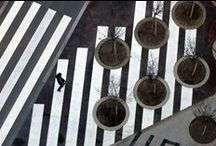 TREES AND THE CITY / some of great designs, shapes, ideas of landscaping and urban design. / by Blue