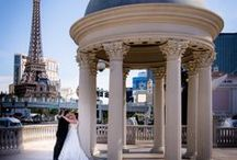 Fun Unique Las Vegas Weddings / Great places to elope or have a wedding in Las Vegas. Vegas has so much to offer a bride from fun to romantic locations on the Las Vegas Strip and the surrounding areas.