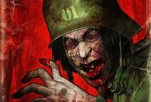 Ilustraciones de terror / by TRONCO WALLACE