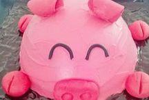 Gâteau à thème / Gâteau rigolos