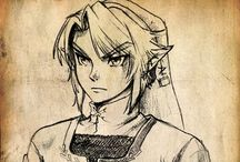 Awesome video game Drawings / For all you fanboys (or fan girls #genderequality) here are some awesome drawings for you.