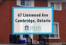 67 Linnwood Ave Cambridge, ON - N1R1V2 / Fully occupied triplex located in East Galt boasting all new windows and doors, and finished basements. Tenants pay utilities. Unit A rents for $1000/month, features three bedrooms, two baths, and is occupied by a 6 year tenant; Unit B rents for $800/month, features two bedrooms, one bath, and is occupied by a 6 year tenant; Unit C rents for $800/month, features two bedrooms, one bath, and is occupied by a long term tenant. Fantastic investment opportunity!