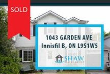 1043 Garden Ave. Innisfil, ON L9S1W5 / MLS# 1604907  OPEN CONCEPT MAIN FLOOR, W/O FROM KITCHEN TO LARGE DECK, LIVING ROOM OFFERS GAS FIREPLACE. NEWER WINDOWS, FINISHED BASEMENT LOTS OF POTENTIAL. CERAMICS TRHOUGH FOYER AND KITCHEN AREAS. BIG YARD WITH NICE PRIVATE DECK. A MUST SEE!!!  Book your private showing today! Call us for more information 519-772-4144 | info@ShawRealtyGroup.com or visit http://goo.gl/9i30rJ