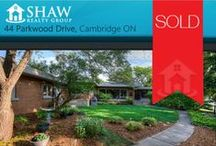 44 Parkwood Drive Cambridge, ON N1S3L1 / MLS# 30532826  A fabulous one of a kind custom built executive bungalow in desirable West Galt. This 3 bedroom 2 bathroom home shows fantastic with large spacious living room, huge eat in kitchen refurbished, newer furnace, master bedroom with 3 PCE en suite.  Book your private showing today! Call us for more information 519-772-4144   info@ShawRealtyGroup.com or visit http://goo.gl/4iDuql  Take the 3D Tour here >>> https://my.matterport.com/show/?m=jJtDHSgUx2f