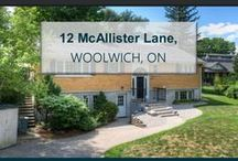 12 McAllister Lane, Woolwich, ON N0B1K0 / MLS# 30533997  Best of both worlds, the cottage life steps from the city. With 2600 sq. ft of finished living space, this raised bungalow waterfront home sits on .72 acres surrounded by woodland, a creek, and waterfront access and views of the Grand River.  Book a showing today this home will not last long. Call us for more information 519-772-4144 | info@ShawRealtyGroup.com For 3D tour, click >>> https://my.matterport.com/show/?m=qJ3zis7D8B7