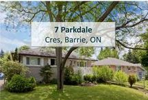 7 Parkdale Cres, Barrie, ON L4M2J1 / MLS# 1607796  AMAZING OPPORTUNITY IN DOWNTOWN BARRIE! FANTASTIC 3BR MAIN FLOOR APARTMENT IS MINS FROM BARRIE WATERFRONT, 5 POINTS, GEORGIAN MALL, RVH, AND GEORGIAN COLLEGE. NEW APPLIANCES, RENOVATED KITCHEN AND BATHROOM, HARDWOOD, LAMINATE FLOORING AND ENSUITE LAUNDRY FOR YOUR ENJOYMENT. RENT INCLUDES ALL UTILITIES AND CABLE/INTERNET. JUST PAY FOR RENT AND GROCERIES.  Book your private showing today! Call us for more information 519-772-4144   info@ShawRealtyGroup.com