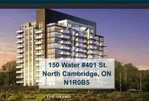 150 Water #401 St. North Cambridge, ON N1R0B5 / MLS# 30535265  Breathtaking terrace/river views & a maintenance free lifestyle in your new home. Welcome to the Grand. Cambridge's newest & most exciting developments on the banks of the Grand River.   Book your private showing today! Call us for more information 519-772-4144 | info@ShawRealtyGroup.com For more info, visit http://goo.gl/Wyatpw