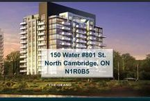 150 Water #801 St. North Cambridge, ON N1R0B5 / MLS# 30534941  Breathtaking terrace/river views & a maintenance free lifestyle in your new home. Welcome to the Grand.   Book your private showing today! Call us for more information 519-772-4144 | info@ShawRealtyGroup.com For more inf, visit http://goo.gl/y5uEFy