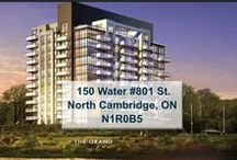 150 Water #808 St. North Cambridge, ON N1R0B5 / MLS# 30535279  Welcome to the Grand. Cambridge's newest & most exciting developments on the banks of the Grand River.   Book your private showing today! Call us for more information 519-772-4144 | info@ShawRealtyGroup.com For more info visit http://goo.gl/GDZnys