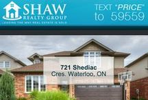 721 Shediac Cres. Waterloo, ON N2K4M3 / MLS# 30538066  Absolutely stunning 3 bedroom 3 bathroom home in desirable East Waterloo neighbourhood. This home has all the upgrades and touches you are looking for.  Book your private showing today! Call us for more information 519-772-4144 | info@ShawRealtyGroup.com For more info visit http://goo.gl/lcvwIW  For 3D tour. click the link >>> https://my.matterport.com/show/?m=KYuoMDasnhT