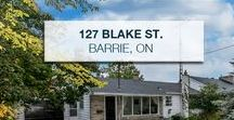 "127 Blake Street Barrie, ON L4M1K2 / FANTASTIC LOCATION, LARGE LOT 60 X 150FT. 3+1 BED, 2 BATH, KITCHEN OVERLOOKING A MATURE BACKYARD W/SEPARATE WORKSHOP W/ELECTRICITY,IN-GROUND POOL ""AS IS"" 2 WALKOUTS FROM A FULLY FINISHED BASEMENT W/REC ROOM, FIREPLACE, BAR AREA W/SINK & 4TH BEDROOM. ATTACHED GARAGE 22 X12F W/REMOTE. STEPS TO THE LAKE, PARK, TRAILS & DOWNTOWN. CREATE YOUR OWN PRIVATE OASIS. HOME SOLD AS IS."