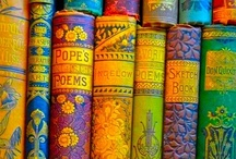 Books, glorious books! / I am OBSESSED with books! I don't just read them, I devour them!!! / by Megs Firiel Orton