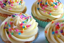 Yumminess! / Mostly cupcakes! I love cupcakes! Anything sweet, and chocolatey, and with peanutbutter really... And pink, and covered in rainbow sprinkles :) / by Megs Firiel Orton