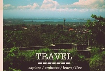THE TRAVEL BUCKET LIST / Places to go...