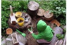 Nature Play / Ideas for nature play and outdoor learning