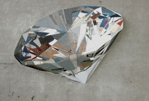 Diamonds Are Forever / This board showcases there various uses of diamonds in art.