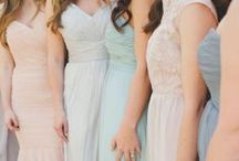 • bridesmaids dresses • / Wedding Bridesmaid Dresses