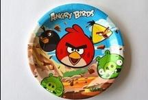 Fiesta Angry Birds / Recibe en la puerta de tu casa increíbles artículos para tener una fiesta temática de Angry Birds
