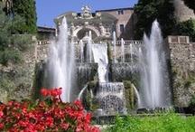 Tivoli & Castel Gandolfo / Będąc na tygodniowej wycieczce w Rzymie, możecie wybrac się na wycieczkę fakultatywna do pobliskiego Tivoli oraz do Castel Gandolfo, gdzie znajduje się letnia rezydencja papieska :)
