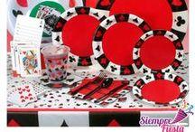 Fiesta de Casino / Recrea un casino en casa con estos artículos de fiesta y disfruta de una gran celebración para tus personas queridas.