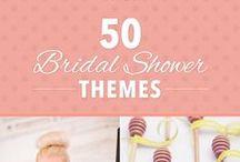 • bridal showers + bachelorette parties • / fun bridal shower and bachelorette party ideas