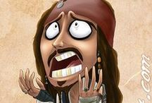 Jack Sparrow! / We Must Fight To Run Away - Captain Jack Sparrow.