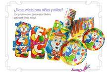 Fiestas de Payaso / Ideas y artículos para una fiesta de cumpleaños temática de Payaso.