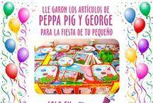 Fiesta de Peppa Pig (Peppa la Cerdita) / Ideas y artículos para una fiesta de cumpleaños de Peppa Pig (Peppa la Cerdita).