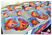 Fiesta de la Sirenita / Ideas y artículos para una fiesta de cumpleaños de la Sirenita de Disney.