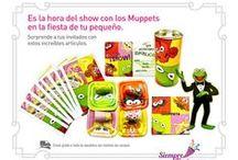 Fiesta de Los Muppets / Ideas y artículos para una fiesta de cumpleaños con los personajes de la película de los Muppets.