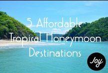 • honeymoon • / best honeymoon spots
