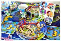 Fiesta de Toy Story / Ideas y artículos para una fiesta de cumpleaños con los personajes de la película Toy Story de Disney.