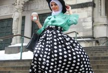 Outfit with Hijabs