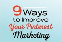 Pinterest Marketing Tips / The Best Pinterest Marketing Tips! Follow to get more repins!