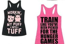 Fun Workout Tops / Stand out of the crowd with these funny workout tank tops & shirts. Bring a lot of laughs everywhere you go, at the gym or in the street!