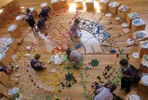 Loose Parts / Ideas for resources to add to your loose parts supplies, and inspiration of the ways they can be used.