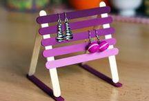 Bricolages et DIY / Pleins de petits trucs à fabriquer avec des enfants ou même sans ! A vos crayons, a vos pinceaux c'est parti !!!