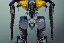 MECHA / Mecha Robots Cyberpunk Hitech
