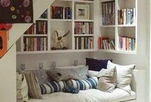 Reading Nook Inspiration / Inspiring reading nooks for the home