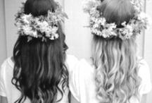 { Hair & makeup }