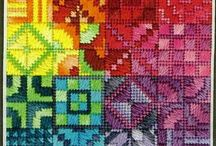 Plastic canvas  and needlepoint ideas / If I started today and worked  non stop I would never finish all these but some are really too pretty not to share!!!!!  / by Judy Spain