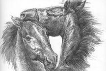Портреты лошадей