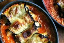 Eggplant Recipes / Eggplants or aubergine recipes cooked in as many different ways as I can find.