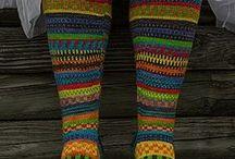 Neulotaan sukkia