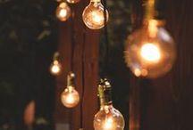 Wedding Lights / De jolies lumières pour créer une ambiance douce et intimiste.