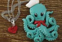 F chobotnice ryba voda moře