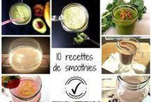 Smoothies et jus santé / Les meilleures recette de smoothies et jus santé