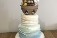 Noah's 1st Birthday - Noah's Ark / Noah's ark birthday party. #First birthday #BirthdayCake #Noahsark