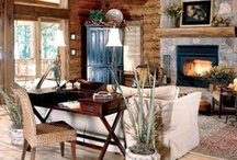 Exceptional Interiors / Those that inspire, makes us feel all warm and cozy and makes us want to stay home....